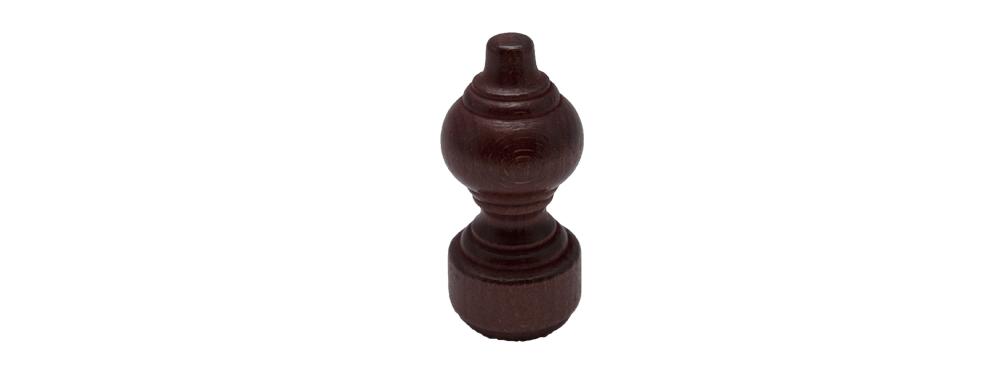 Capat galerii lemn mahon/ 1 buc