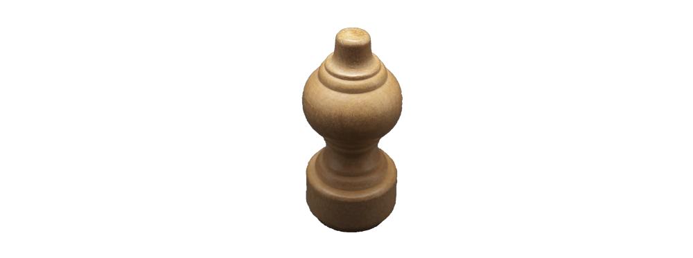 Capat galerii lemn rustic deschis/ 1 buc